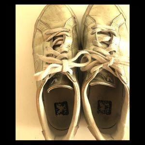 Veja gold sneakers